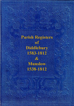 Shropshire Parish Registers: Diddlebury and Munslow 1538-1812