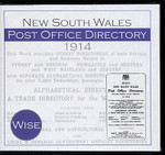 New South Wales Post Office Directory 1914 (Wise)