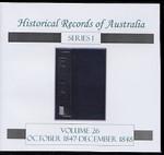 Historical Records of Australia series 1 Volume 26
