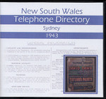 New South Wales Telephone Directory 1943: Sydney