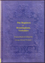 Yorkshire Parish Registers: Brantingham 1653-1812