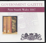 New South Wales Government Gazette 1847