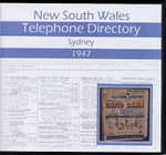 New South Wales Telephone Directory 1947: Sydney