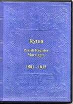 Durham Parish Registers: Ryton 1581-1812