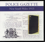 New South Wales Police Gazette 1915