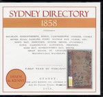 Sydney Directory 1858 (Sands and Kenny)