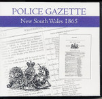 New South Wales Police Gazette 1865