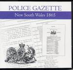 New South Wales Police Gazette 1865