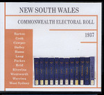 New South Wales Commonwealth Electoral Roll 1937