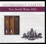 New South Wales Government Gazette 1854