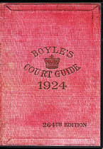 Boyle's Court Guide 1924