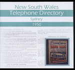 New South Wales Telephone Directory 1950: Sydney
