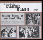 Radio Call 1951