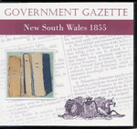 New South Wales Government Gazette 1855