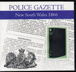 New South Wales Police Gazette 1866