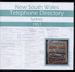 New South Wales Telephone Directory 1951: Sydney