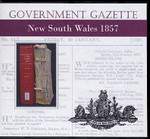 New South Wales Government Gazette 1857