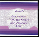 Wragge's Australasian Weather Guide and Almanac 1903