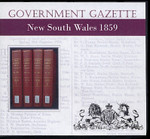 New South Wales Government Gazette 1859