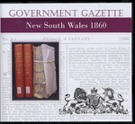 New South Wales Government Gazette 1860