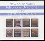 New South Wales Telephone Directories 1940s: Sydney