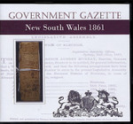 New South Wales Government Gazette 1861