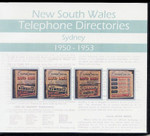 New South Wales Telephone Directories 1950-1953: Sydney
