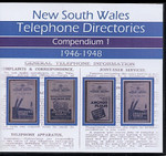 New South Wales Telephone Directories: Compendium 1 - set of 4 Northern and Western Districts Directories 1946-48