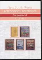 New South Wales Telephone Directories: Compendium 2 - selection of 21 Directories