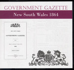 New South Wales Government Gazette 1864