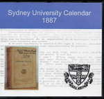 Sydney University Calendar 1887