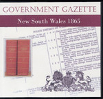 New South Wales Government Gazette 1865