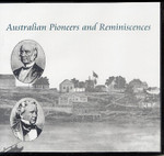 Australian Pioneers and Reminicences