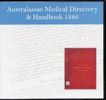 Australasian Medical Directory and Handbook 1886