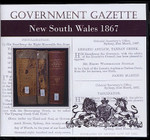 New South Wales Government Gazette 1867