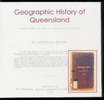 Geographic History of Queensland