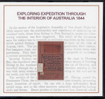 Exploring Expedition Through the Interior of Australia 1844