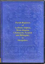 Shropshire Parish Registers: Lydham, Edgton, Monk Hopton, Chelmarsh, Neenton and Billingsley 1592-1812