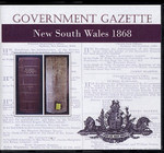 New South Wales Government Gazette 1868