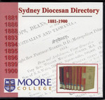 Sydney Diocesan Directory 1881-1900