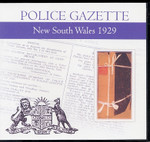 New South Wales Police Gazette 1929