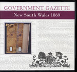 New South Wales Government Gazette 1869