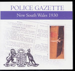 New South Wales Police Gazette 1930