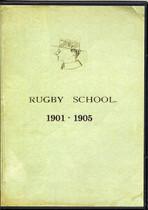Rugby School Yearbooks, Warwickshire 1901-1905