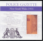 New South Wales Police Gazette 1931