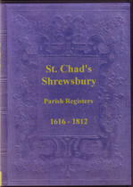 Shropshire Parish Registers: Shrewsbury (St Chad) 1616-1812