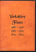 Yorkshire Fines 1486-1625