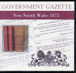 New South Wales Government Gazette 1875