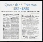 Queensland Freeman 1881-1888 (Baptist Periodical)