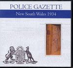 New South Wales Police Gazette 1934